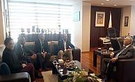 ÇATOD'dan Başkan Gökhan'a ziyaret