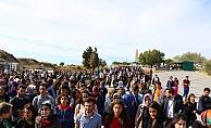 ÇOMÜ Öğrenci Konseyi ve ÇSATT'dan tarihi rekor Ecdadın izinde 500 nefer
