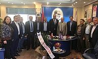 ÇTSO yönetiminden bir dizi ziyaret