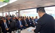Lapseki'de kırsal destekleme bilgilendirme toplantısı