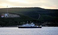 Rus Casus Gemisi Çanakkale Boğazı'ndan geçti