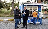 Başkan Gökhan'dan öğrencilere çorba ikramı…