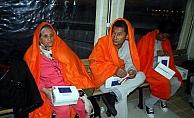 Çanakkale'de 16 kaçak göçmen yakalandı