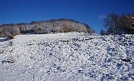 Çanakkale'ye yılın ilk karı yağdı