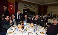 Çan'da öğretmenler yemekte buluştu