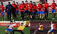 Dardanelspor'da kıran kırana antrenman