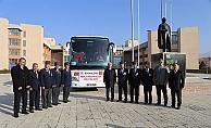 Erzincan Belediyesi'nden gazilere Çanakkale gezisi