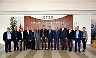 Esnaf Odaları Birliği ÇTSO'da buluştu
