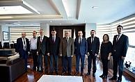 Feyzioğlu'dan Başkan Gökhan'a ziyaret…