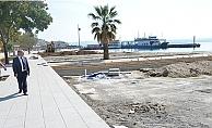 Gelibolu'daki sahil projeleri hızla ilerliyor