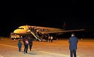İlk uçuş bugün 84 yolcuyla gerçekleşti