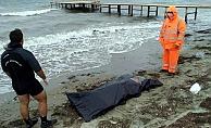 Lapseki'de deniz kıyısında ceset bulundu