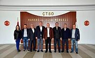 Milletvekili Gider ÇTSO Yönetimini Ziyaret Etti