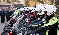 Motosikletli Polis Timleri göreve başladı