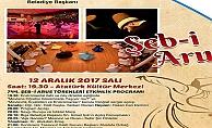 Biga'da Şeb-i Arus töreni yapılacak