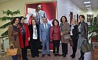 CHP'li kadınlardan Başkan Özacar'a ziyaret