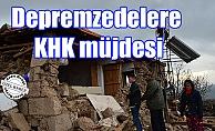 Depremzedelere KHK müjdesi
