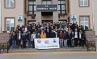 Diyarbakırlı öğrenciler Çanakkale'de