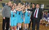 Genç Kız Basketbol Karşılaşmaları Sona Erdi