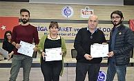 Girişimci adaylarına sertifika