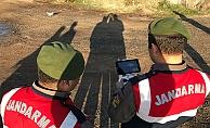Kaçaklar drone ile tespit edildi