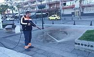 Kent genelinde temizlik çalışması