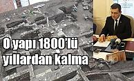 O yapı 1800'lü yıllardan kalma (VİDEO)