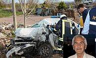TIR otomobili biçti: 1 ölü, 2 yaralı