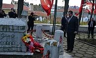 Vatan Şairi Namık Kemal mezarı başında anıldı