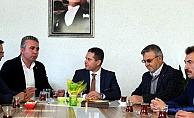 Ziraat Odası'ndan AK Parti'ye ziyaret