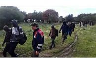 Ayvacık'ta 43 kaçak yakalandı
