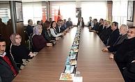 Başkan Karadağ, kongre turunda