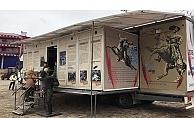 Çanakkale Destanları Müzesi Gezici Tırına yoğun ilgi…