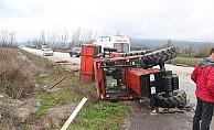 Çan'da trafik kazası: 8 yaralı