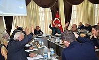 Ezine'de meclis toplandı