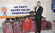 Çanakkale'den Mehmetçiğe destek