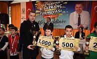 Satranç 'ta Ödüller sahiplerini buldu