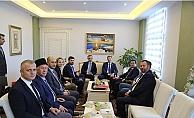 Vali Tavlı Ukrayna heyetini ağırladı