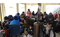Ayvacık'ta 34 mülteci yakalandı