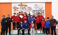 Karatede ilk gün 4 Madalya