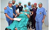 Lapseki Devlet Hastanesi'nde ilk ameliyat