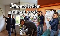 Öğrencilerden anlamlı proje
