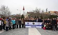 Öğrencilerin Troia heyecanı