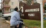 """""""Uğur Mumcu Parkı'nı yeniliyoruz"""""""