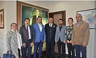 AK Parti İl Yönetiminden Emniyet Müdürlüğüne ziyaret