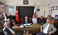 Başkan Gökhan'dan tebrik ziyareti