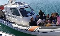 Çanakkale'de 17 kaçak göçmen yakalandı