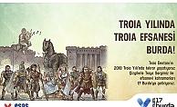 Çizgilerle Troya Destanı sergisi