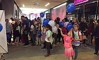 Çocuklar sinemada GESTAŞ'ın misafiriydi