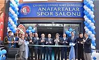 ÇOMÜ'ye 3 milyon TL'lik spor salonu